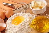 Baking ingredients. — Stock Photo