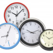 Clocks. Isolated — Stock Photo #2540436