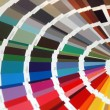 Colour chart — Stock Photo