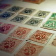 Old Stamps — Stock Photo #2175813