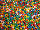 Coloured balls — 图库照片