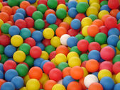 Coloured balls — Stock Photo