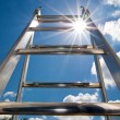 Stock Photo: Ladder of success