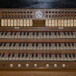 Old church organ — Stock Photo