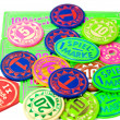 Spielchips - Stock Photo