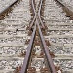 Railroad track switch — Stock Photo #2189931