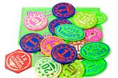 Spielchips — Stock Photo