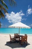 Beach Cafe — Stock Photo