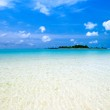 Tropical island in the indian ocean — Stock Photo #2531521