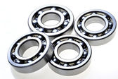 Four bearings — Stock Photo