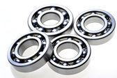 Four bearings — Stock Photo