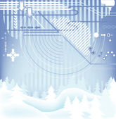 Winter design — Stock Photo