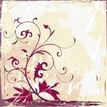 Floral grunge design — Stock Photo #2535921