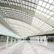 Stock Photo: Hall of beijing T3 airport station