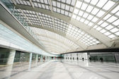Hall of beijing T3 airport station — Stock Photo
