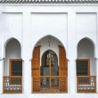 Moroccan riad — Stock Photo