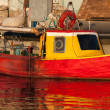 Old small fishing boat — Stock Photo