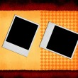 Royalty-Free Stock Photo: Two photo frames