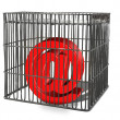 At sign trapped in cage — Stock Photo #2186161