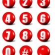 Collection of numbers — Stock Photo #2186209