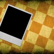 Photo frame against dirty background — Stock Photo #2186978