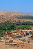 Moroccan suburbs — Stock Photo