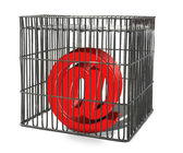 At sign trapped in a cage — Stock Photo