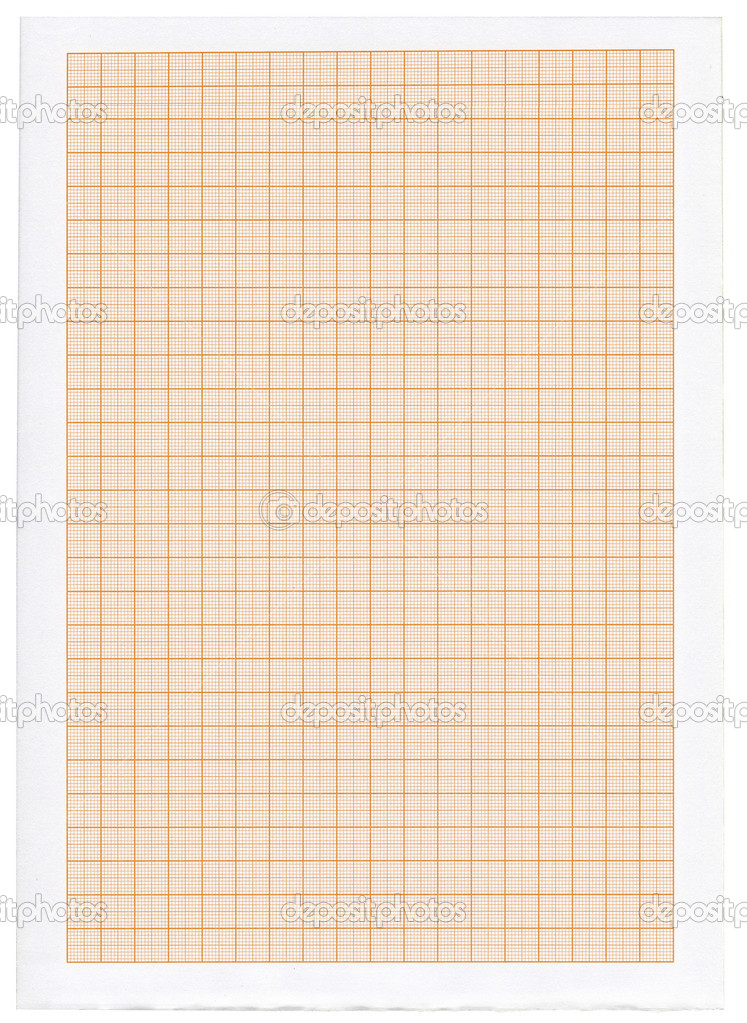 Graph paper isolated on white background  Stock Photo #2183438