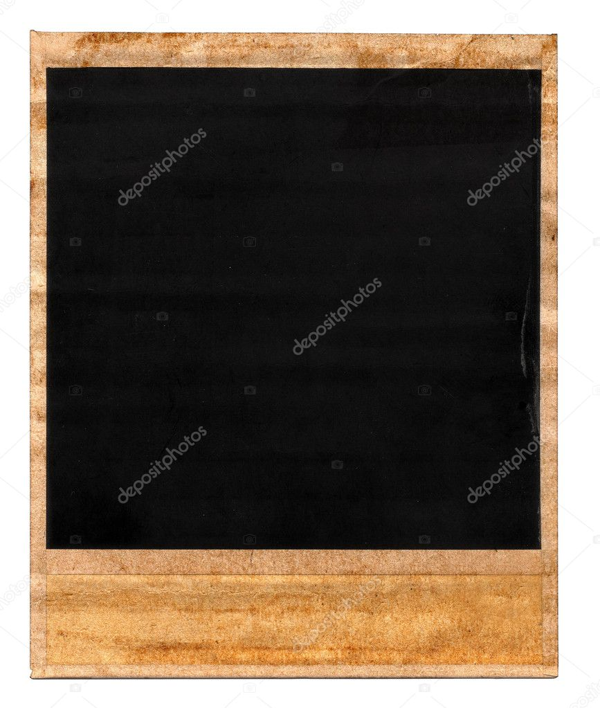 Old dirty back side of a photo frame on white   Stock Photo #2183629