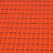 Bright red roofing tiles — Stock Photo