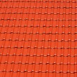 Royalty-Free Stock Photo: Bright red roofing tiles