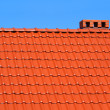 Red roofing-tiles - Stock Photo