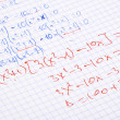 Stock Photo: Hand written maths