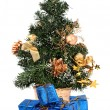 Christmas tree and gifts — Stock Photo #2218280