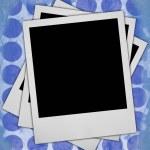 3 つの空白のフォト フレーム — ストック写真