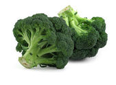 Broccoli on white, — Stock Photo