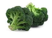 Broccoli on white, — Stock Photo