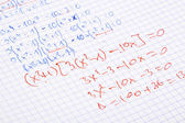 Hand written maths — Stock Photo
