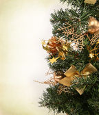 Part of christmas tree — Stock Photo