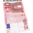 Stock Photo: Ten Euro banknote #2