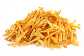 Heap of French fries — Stock Photo