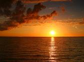 Otroliga solnedgången — Stockfoto
