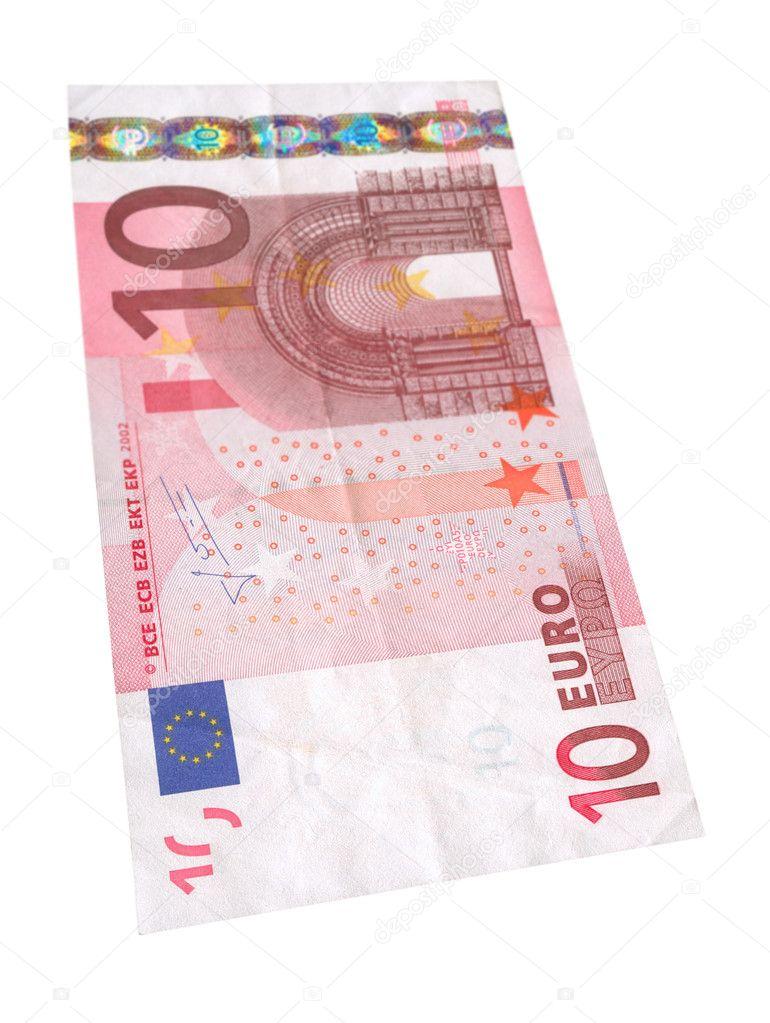 ten euro banknote 2 stock photo yoka66 2246824. Black Bedroom Furniture Sets. Home Design Ideas
