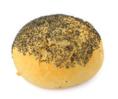 Poppy seed bun — Stock Photo