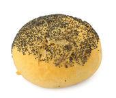 Poppy seed bun — Stock Photo