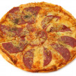 Stock Photo: Whole pepperoni