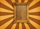 Frame on retro background — Stock Photo