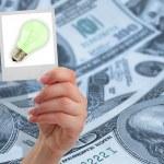 finanční představu koncept — Stock fotografie