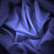 Blue satin with spotlight — Stock Photo