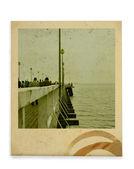 Vintage photo — Stock Photo